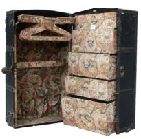 french malles lavoet steamer trunk art deco