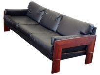 adrian pearsall walnut sofa